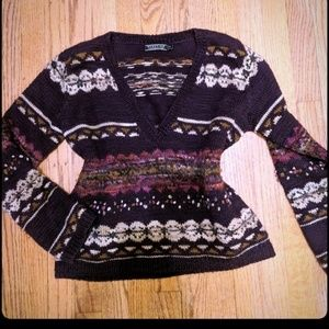 Gorgeous Peruvian Connection Knit Wool Sweater